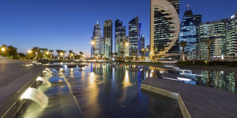 Doha i Katar